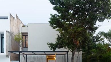 Photo of Casa Risch- egy mexikói otthon, természetes szín- és anyagpalettával