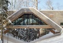Photo of Hídszerűen emelkedik a szakadék fölé a torontói otthon