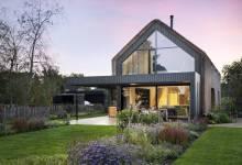 Photo of Egy nádfedélbe burkolt luxus villa Hollandiában
