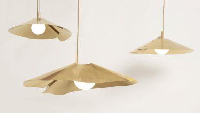 Photo of Az Atelier de Troupe elegáns sárgaréz medál lámpája