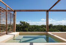 Photo of Tetőtéri medencék koronázzák az apartmanokat a mexikói dzsungelben