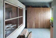 """Photo of Építési telekként kezelték az otthon nappaliját a """"ház a házban"""" koncepcióhoz"""