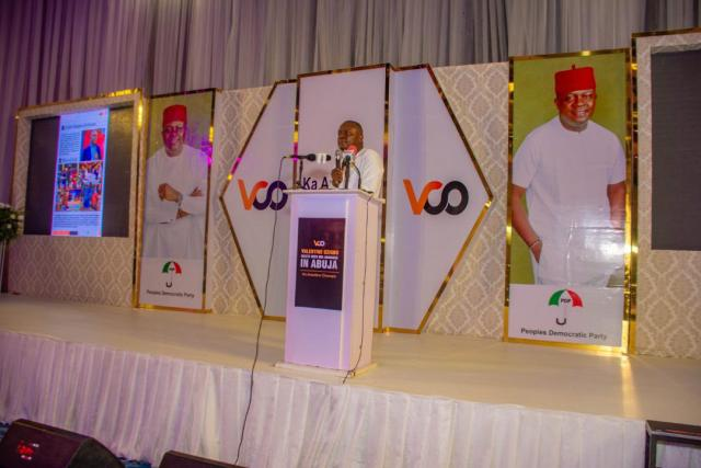 Ozigbo in Abuja – Calls For Collective Effort In Building A New And Prosperous Anambra State