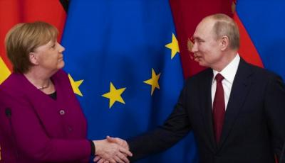 Angela Merkel Urges Putin To Pull Troops From Ukraine Border.