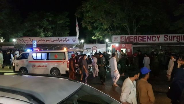 Taliban Says Civilian Death Toll In Kabul Blasts Hits 72, 13 United States Soldiers included.