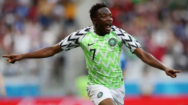 Nigeria Closes The Mark Against CAR As Musa Makes His 100th Appearance For Nigeria.