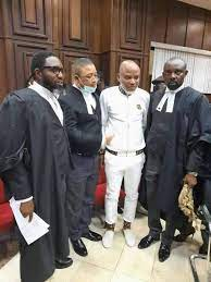 Nnamdi Kanu Appears in Court, Pleads Not Guilty to Amended Charges