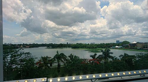 Inya Lake in Yangon