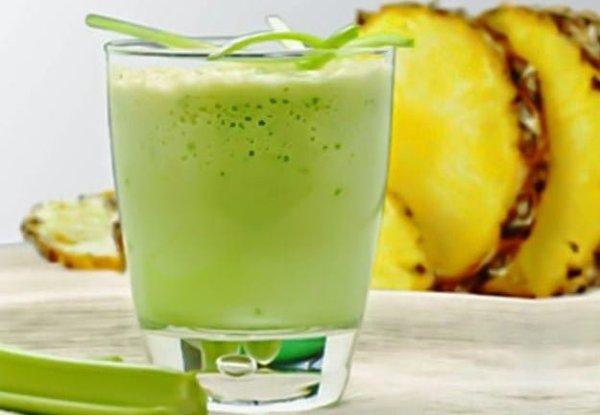 сельдерей и ананасовый сок