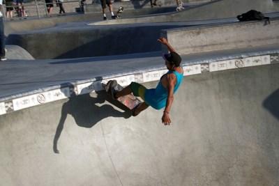 roller skating in California