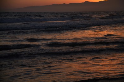 California sunset photography