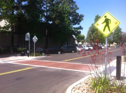 La Mesa crosswalk