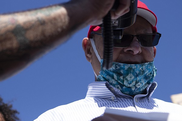 San Diego resident Richard Lawrence, 83, speaks about his...