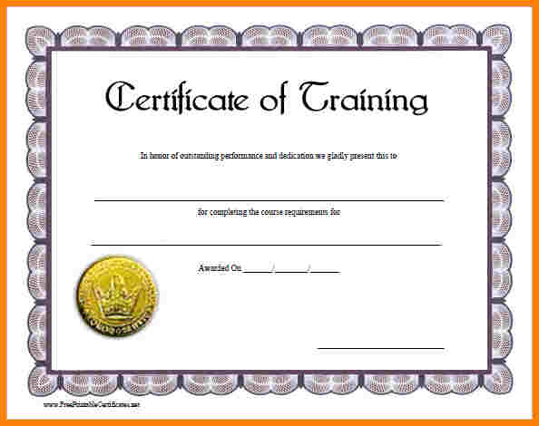 We Offer Four Levels Of Certificate Based On Your Level Of Experience:  Basic, Intermediate, Advanced, And TrainerIn Addition, We Offer A Certificate  For ...  Certificate For Training