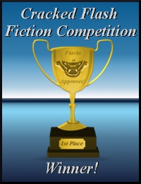 Cracked Flash Fiction Trophy
