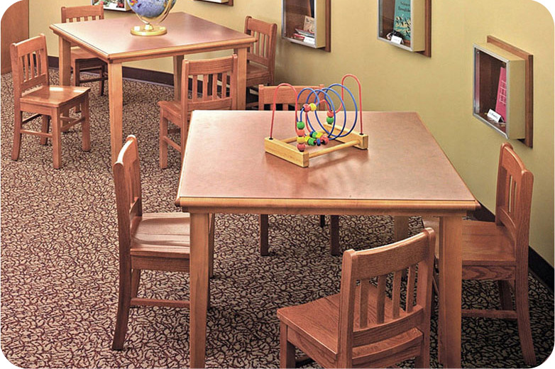 Gateway Juvenile Height Children's School Chairs In Oak
