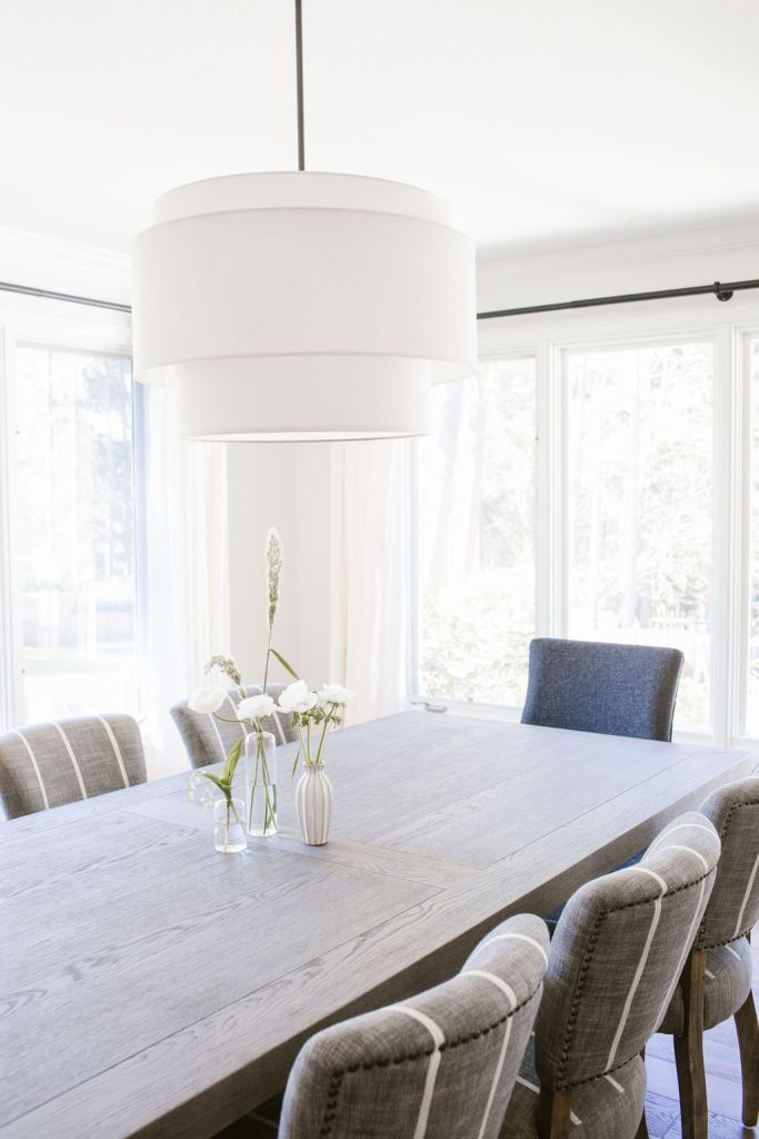 the cost of furnishing a dining room