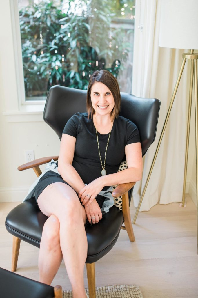 Interview with Krissy Peterson in her Redmond, WA home