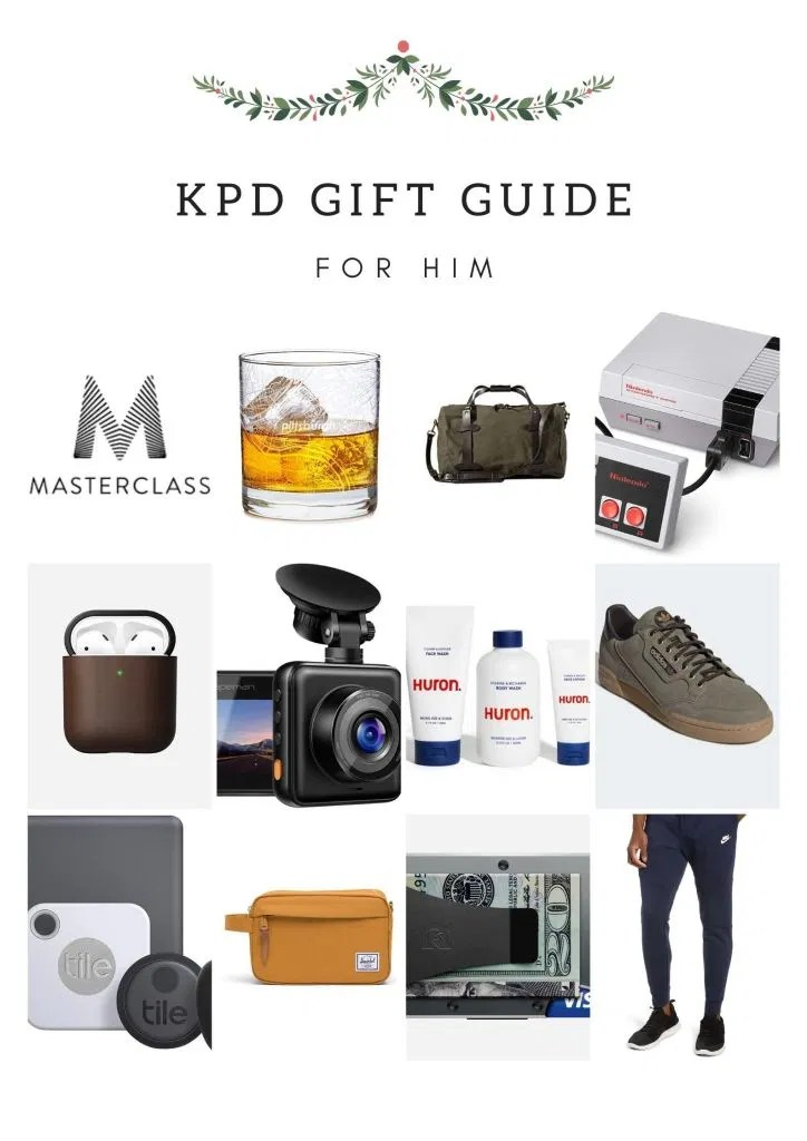 2019 Holiday Gift Guide for Him