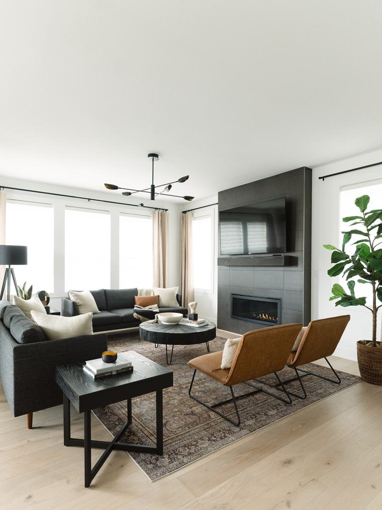 nw modern great room by K. Peterson Design
