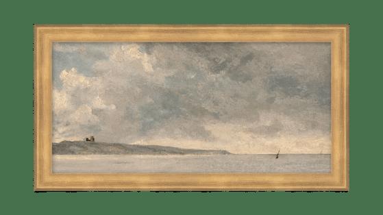 gray seas wall art mcgee and co