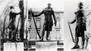 Photo of Thomas Alexandre-statue