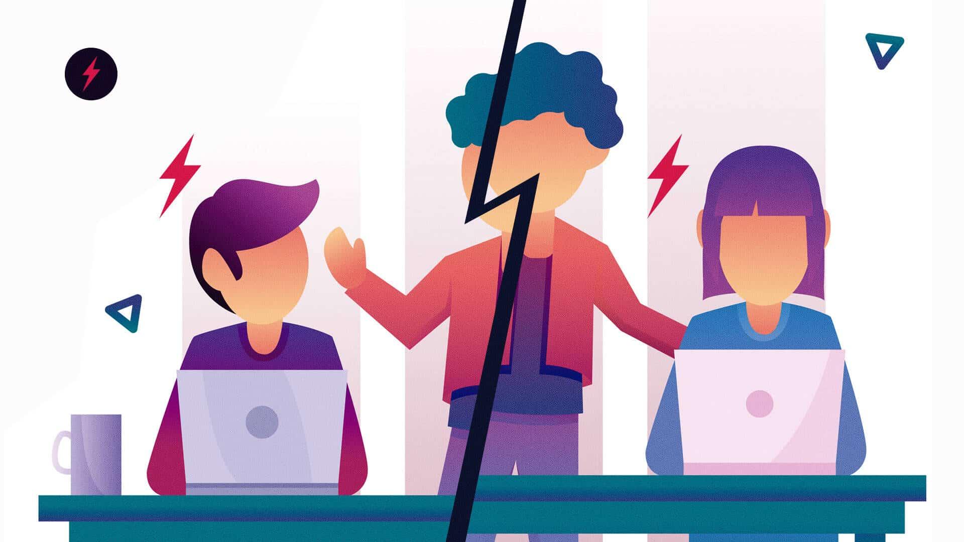 Como lidar com os conflitos em uma equipe de trabalho?