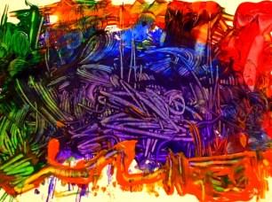 Roller Painting Art