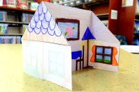 Origami House (Side)