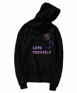 Sweat BTS Love Yourself noir