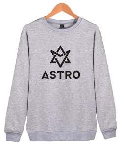 Sweatshirt Astro gris coréen