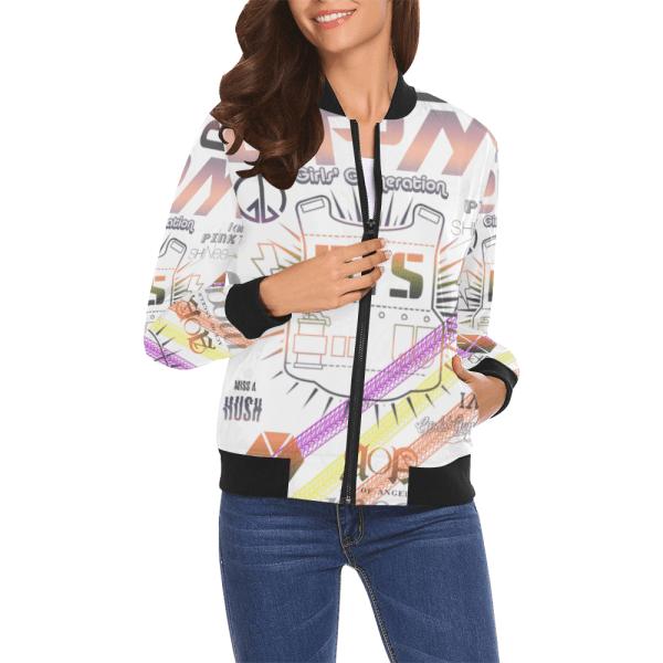 BTS Print Casual Jacket