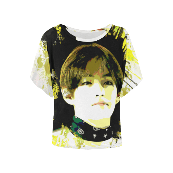 BTS Tae Batwing Sleeve T-Shirt
