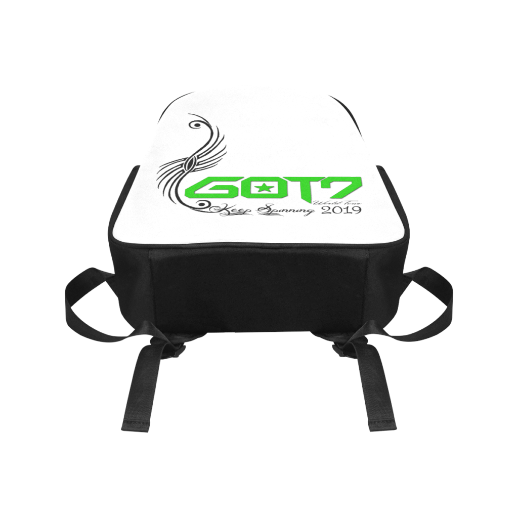 GOT7 Logo World Tour Canvas Backpack