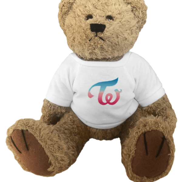 Cute Twice Logo Teddy Bear