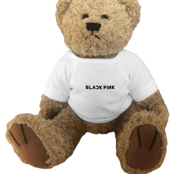 BlackPink Logo Teddy Bear