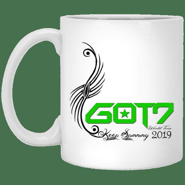 GOT7 Logo World Tour White Mug