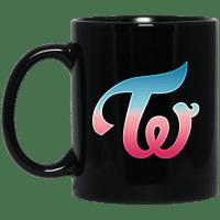 Twice Logo Black Mug