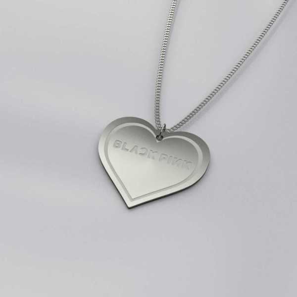 BlackPink Heart Shape Casual Necklace