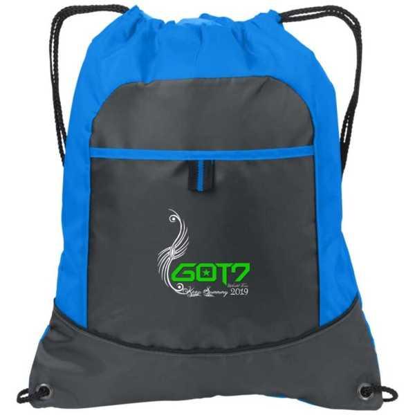 GOT7 Logo World Tour Drawstring Bags