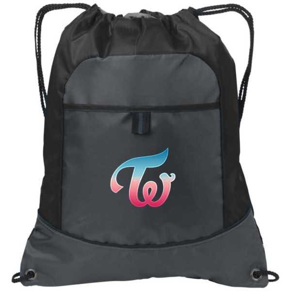 Twice Logo Drawstring Bag