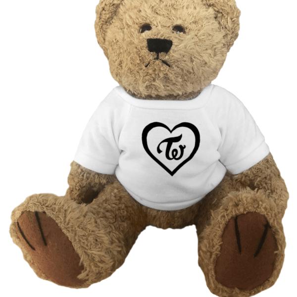 Twice Logo Heart Teddy Bear