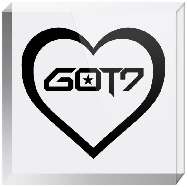 GOT7 Logo Acrylic Blocks