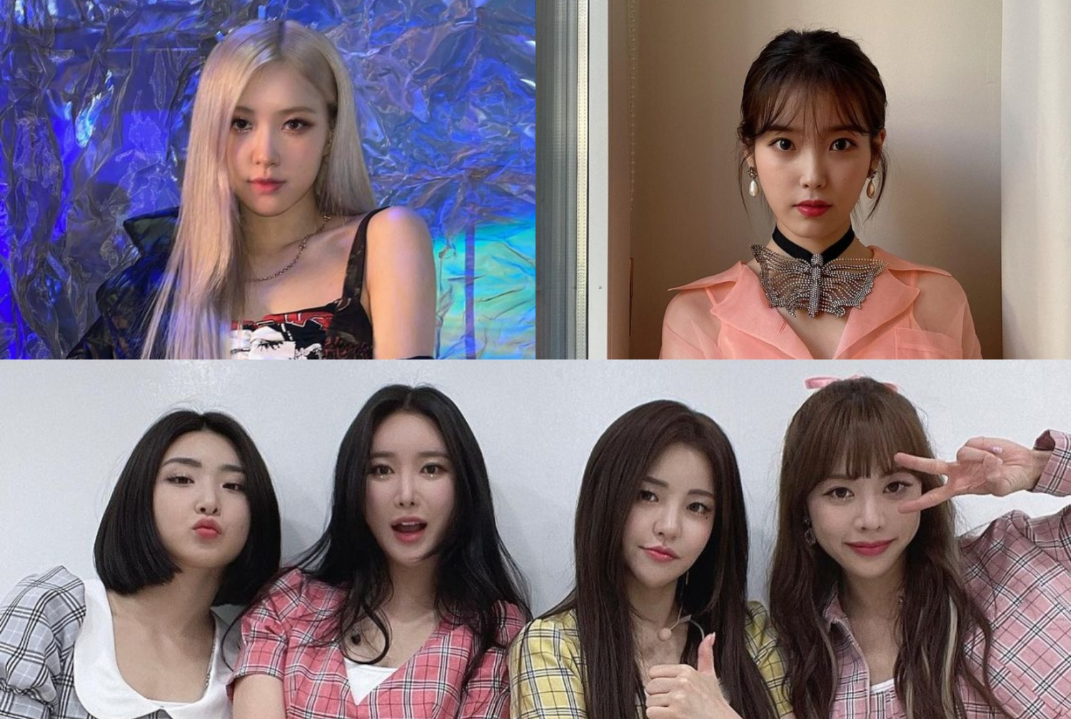 BLACKPINK Rosé, IU, Brave Girls, & More: These are the Most-Streamed K-pop Songs in Korea in April 2021