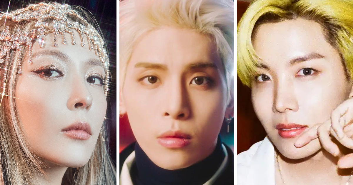 """These Are The Only 6 K-Pop Soloists To Chart On The """"Billboard 200"""" So Far"""