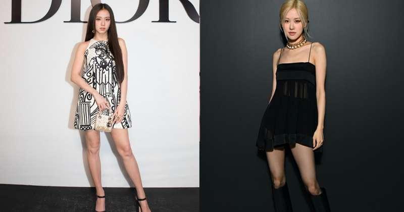 BLACKPINK Jisoo and Rosé LOOK BEST in Vogue's 'Best Celebrity Sightings' in Paris Fashion Week