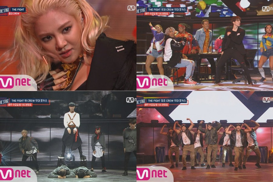 Hyoyeon, Ten, Yugyeom, Changjo, Bitto, Min dan DIA Memukau di 'Hit The Stage'
