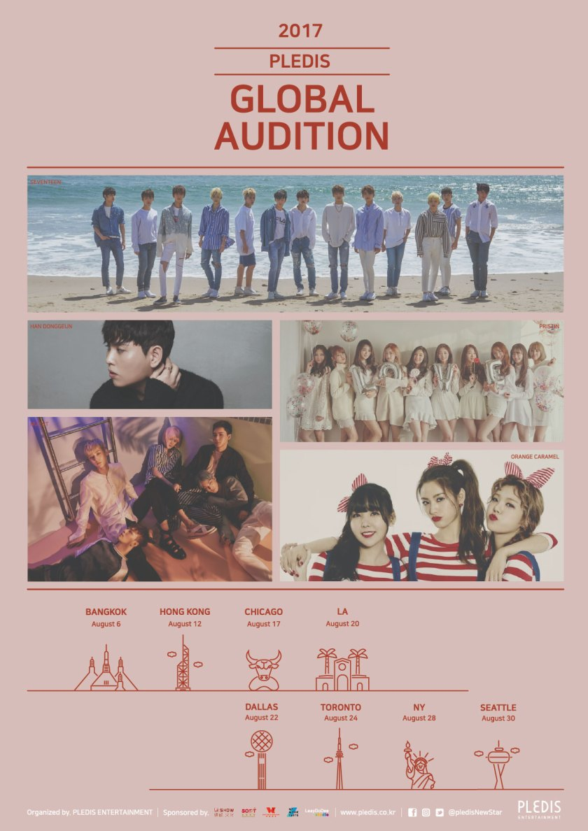 Pledis Entertainment Global Audition