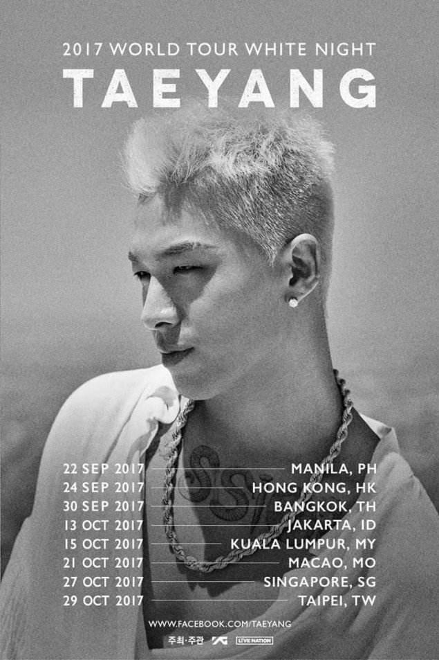 Taeyang White Night Indonesia