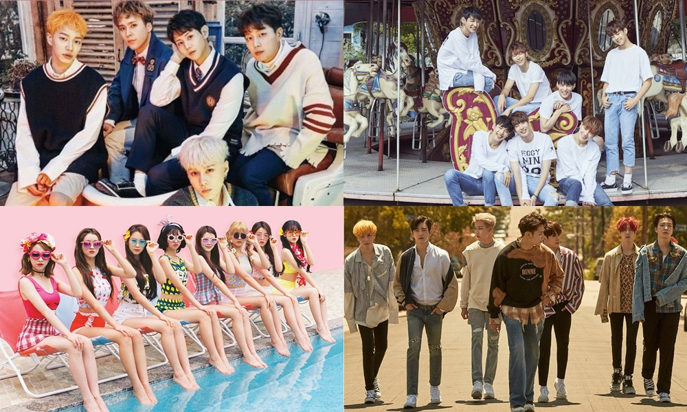 HIGHLIGHT, VICTON, Oh My Girl dan GOT7 Bintangi Episode Spesial 'Weekly Idol'